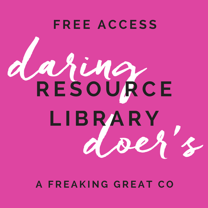 Daring Doer's Resource Library - FREE