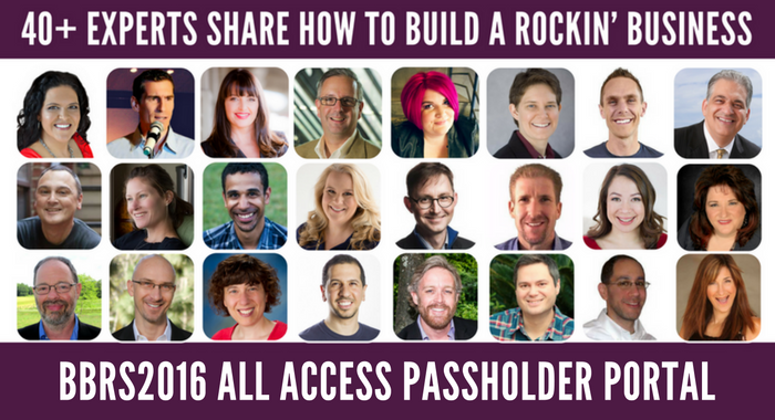 BBRS2016 All Access Pass